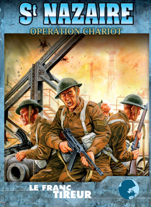 Saint nazaire 1942 operation chariot out of print le for Le garage st nazaire
